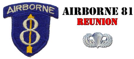 Airborne 81 Reunion Logo